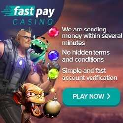 Fastpay casino bonus for Balticbet.net can be seen on this image.