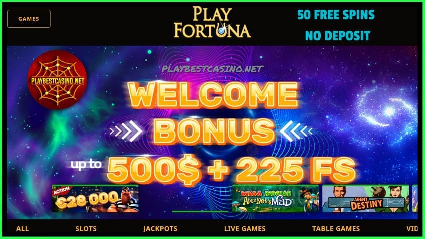 Casino deposit bonuses Play Fortuna there is a photo.