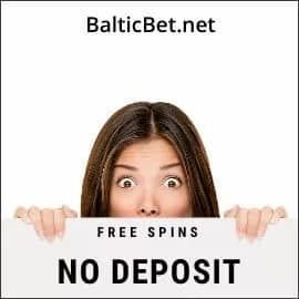 Free spins without deposit in online casinos are in the photo.
