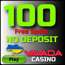 Фриспины за регистрацию без депозита в казино Vavada для украинских игроков есть на фото.