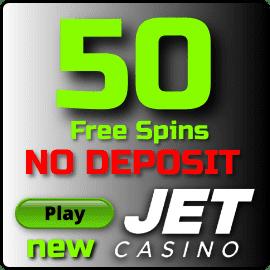 50 Вращений за регистрацию для игроков Украины в новом казино Jet есть на фото.